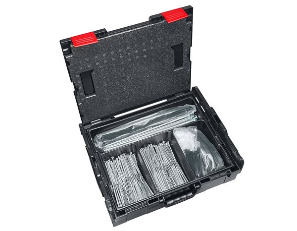 Tool Cases: e.s. Small part insert 136 + black 1