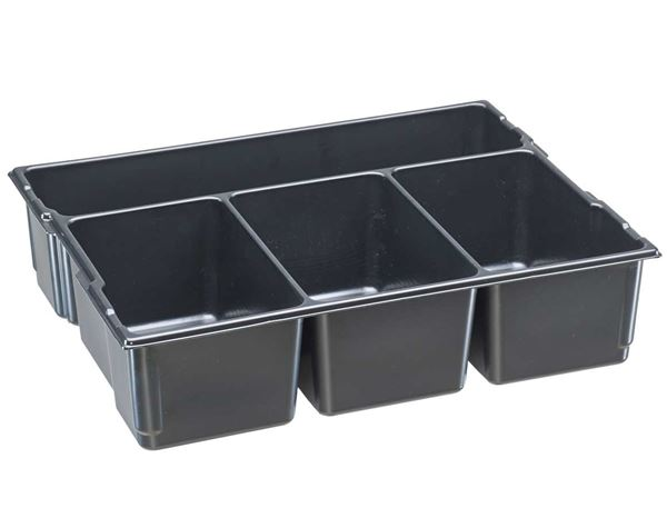 Tool Cases: e.s. Small part insert 136 + black