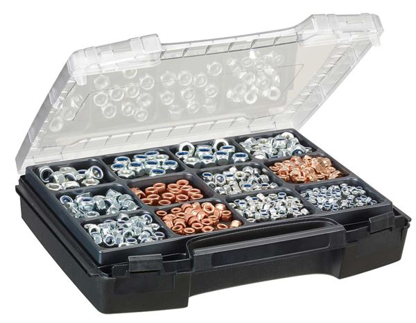Nuts: Hex nuts DIN 985, 325 pieces