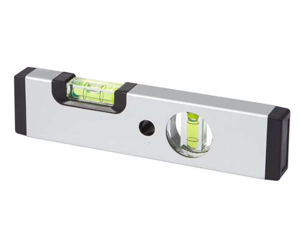 Measuring tools: e.s. Aluminium spirit level