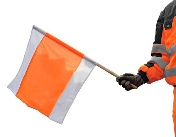 Accessories: Warning flag
