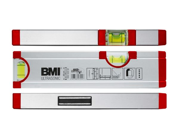 Measuring Tools: BMI Spirit level Ultrasonic
