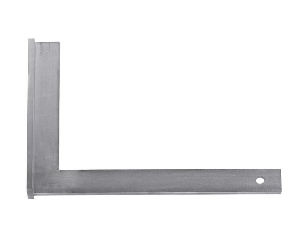 Engineer steel square with stopper edge