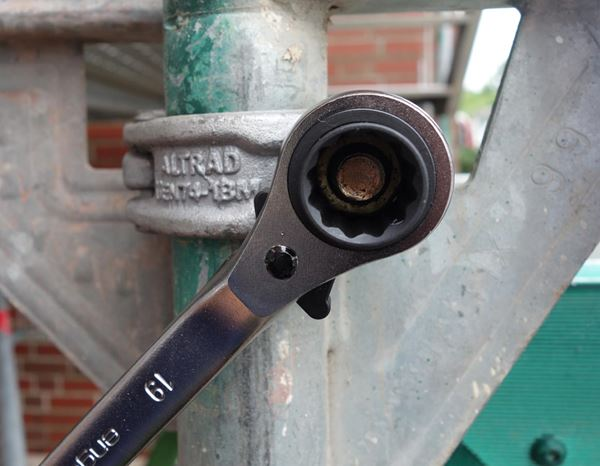 Spanners / Ratchets: Scaffolder's key 2