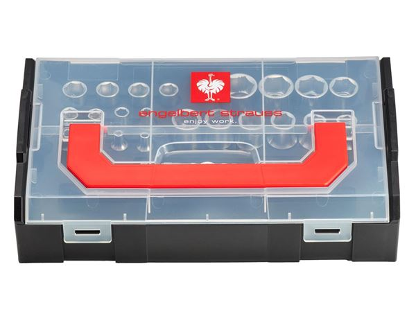 Tool Cases: e.s. Socket wrench set powergrip 1/4+1/2 in Boxx 1