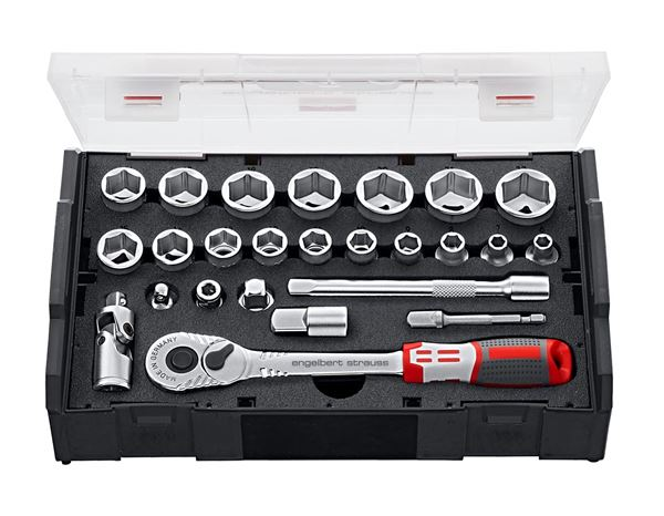 Tool Cases: e.s. Socket wrench set pro 3/8 in e.s. Boxx mini