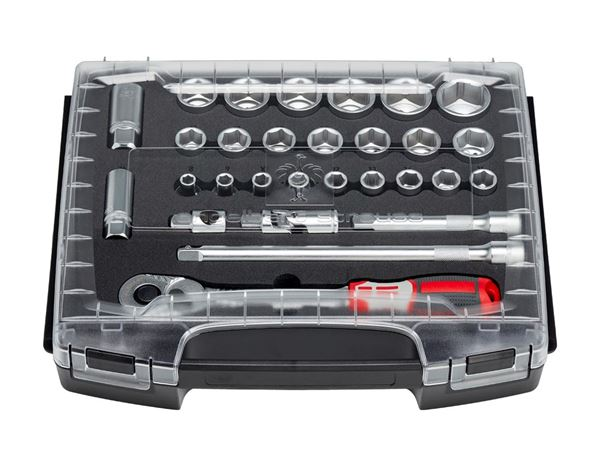Tool Cases: e.s. Socket wrench set pro 1/2 in e.s. i-Boxx 72 2