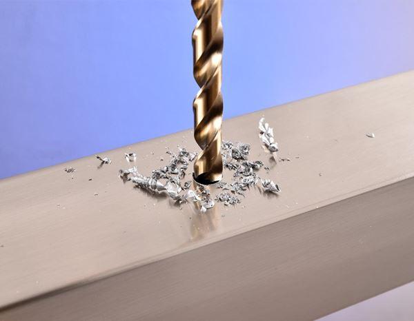 1 St/ück /Ø 4,5 mm HSS Co 5/% Cobalt Spiralbohrer Stahlbohrer 135/° Spitzenwinkel und Kreuzanschliff Bohrer Metallbohrer DIN 338