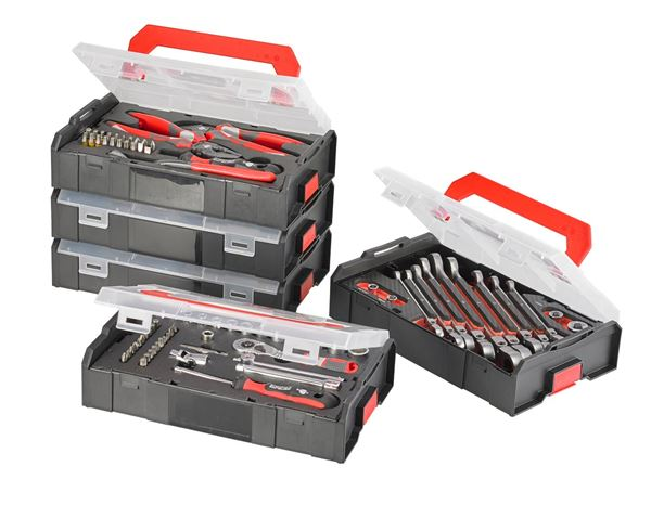 Tool Cases: e.s. Boxx mini socket wrench set pro IV