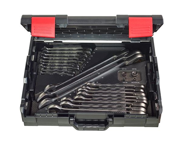 Spanners / Ratchets: e.s. Ratch-Tech-Satz Umschaltbar in e.s. Boxx 102