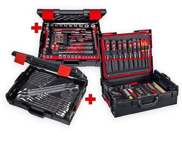 Tool Cases: e.s. socket wrench set lockfix professional