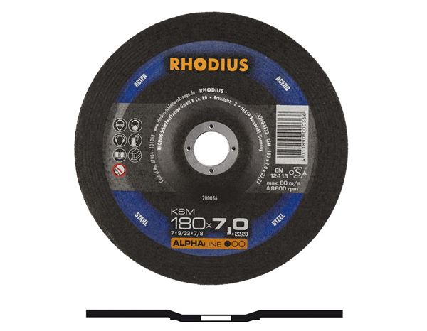 Cutting- / Sanding Discs: High Performance Steel Cutting Disc, Type 27