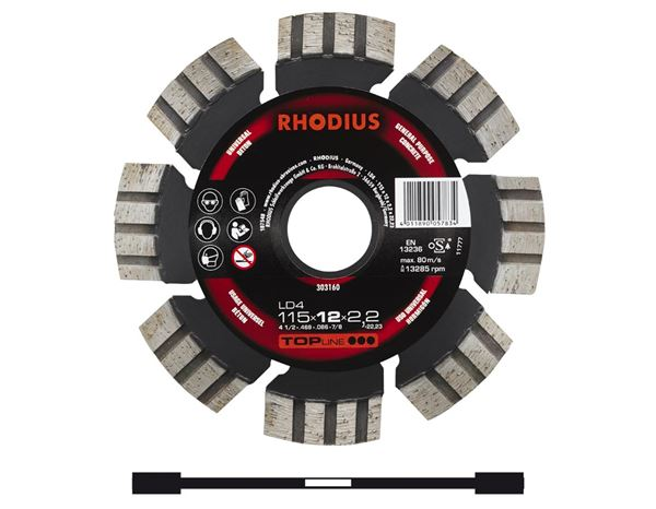 Cutting- / Sanding Discs: Diamond-Cut-Off-Wheel for stone processing