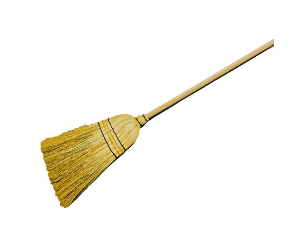 Brooms / Brushes / Scrubbing  Brushes: Straw Broom