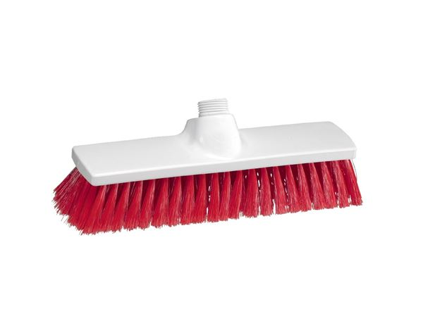 Brooms / Brushes / Scrubbing  Brushes: Indoor Broom + red