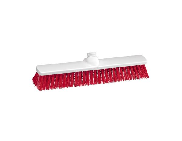 Brooms | Brushes | Scrubbers: Outdoor Broom + red
