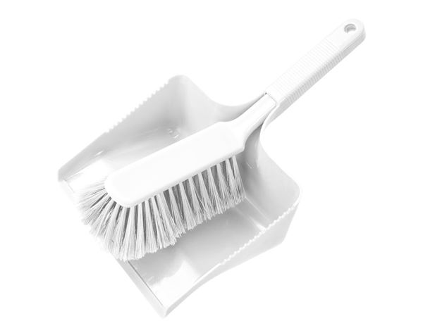 Brooms | Brushes | Scrubbers: Pan and Brush Set + transparent