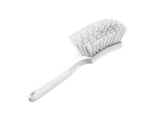 Brooms | Brushes | Scrubbers: Handled hand brush + transparent