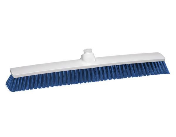 Brooms / Brushes / Scrubbing  Brushes: Indoor Broom + blue