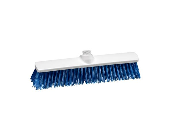 Brooms | Brushes | Scrubbers: Hygiene Broom blue polypropylene 400x60 mm + blue