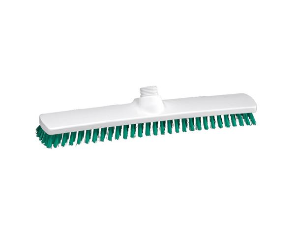 Brooms | Brushes | Scrubbers: Broad surface scrubber, Low + green