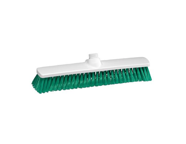 Brooms / Brushes / Scrubbing  Brushes: Indoor Broom + green