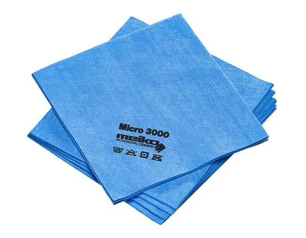 Towels: Microfibre cloths MICRO 3000 + blue