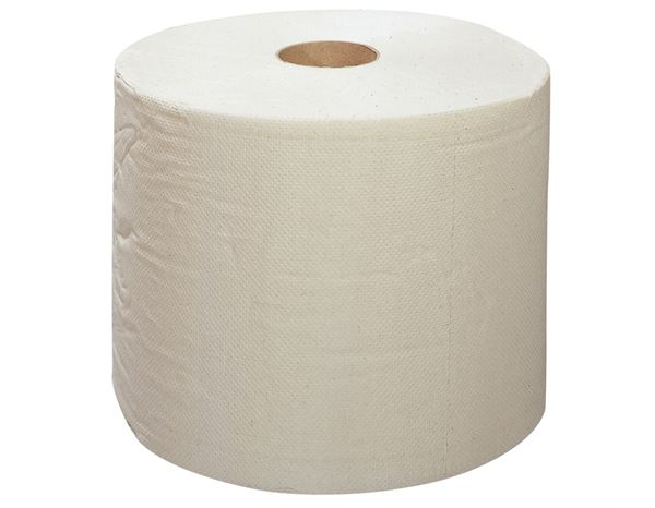 Towels: Cleaning paper on rolls, 22 cm wide