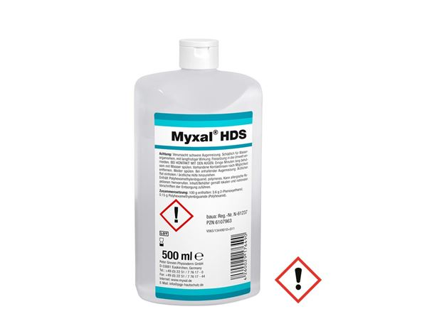 Hand Cleaning / Skin Protection: Myxal HD Disinfecting Soap