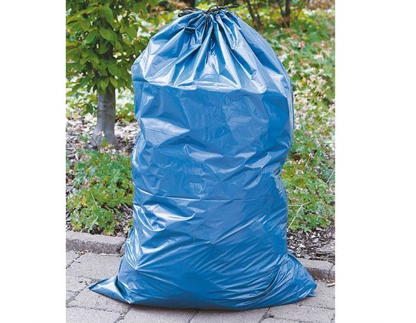 Waste bags | Waste disposal: Rubbish sack with drawstring