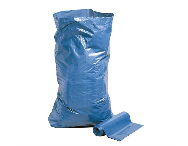 Waste Bins / Bin Bags: Rubbish sack Goliath blue