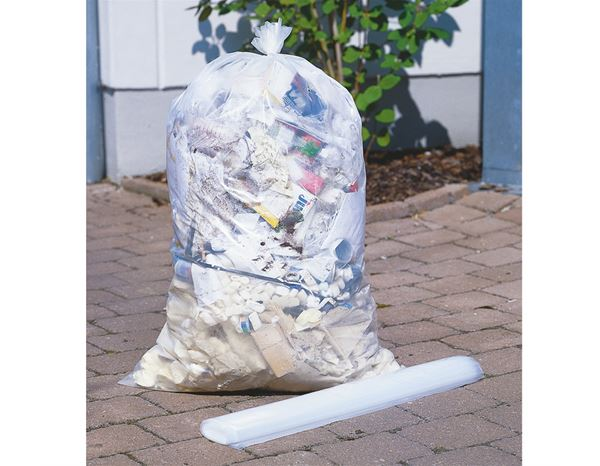 Waste Bins / Bin Bags: Rubbish sack Goliath transparent