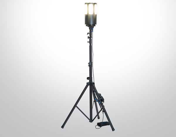 Lighting: LED tradesperson spot 360 3