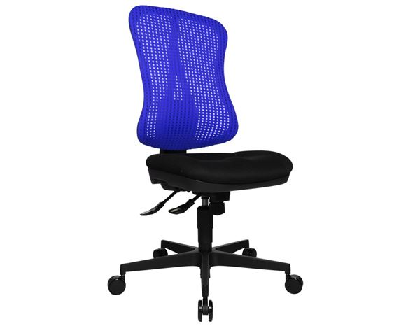 Chairs: Office swivel chair Head Point SY + blue