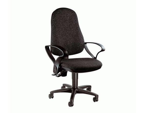 Point AnthraciteEngelbert Rotative Chaise Bureau De 60 Strauss EHYe9WD2Ib
