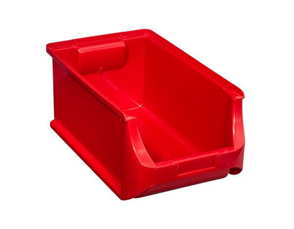 Sorting: Open storage box 4 355x205x150mm + red