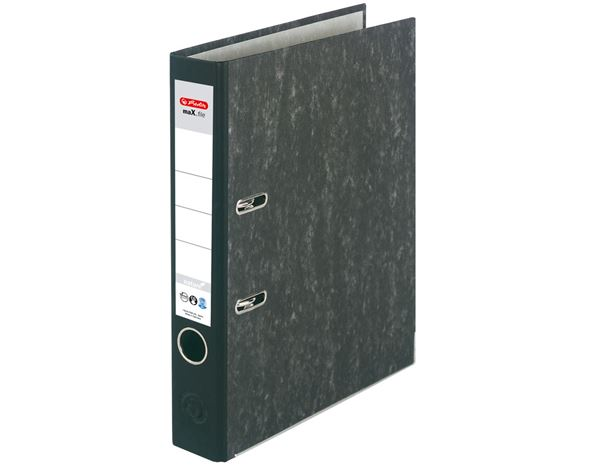 Lever Arch Files: Herlitz file maX.file nature + black