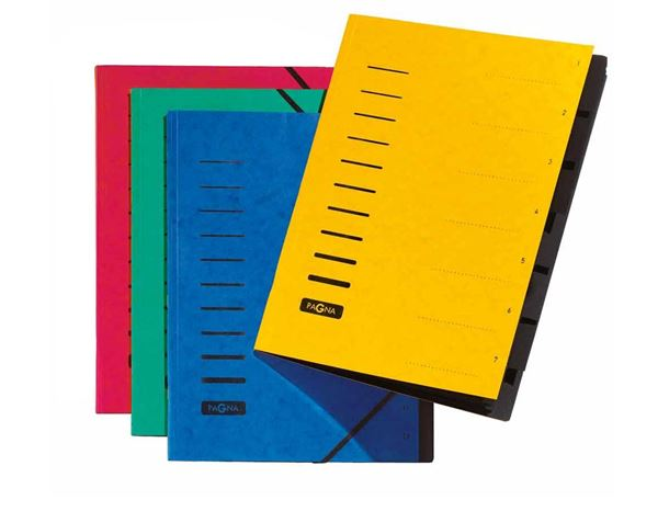 Organiser Books: PAGNA A4 Organiser Books + red