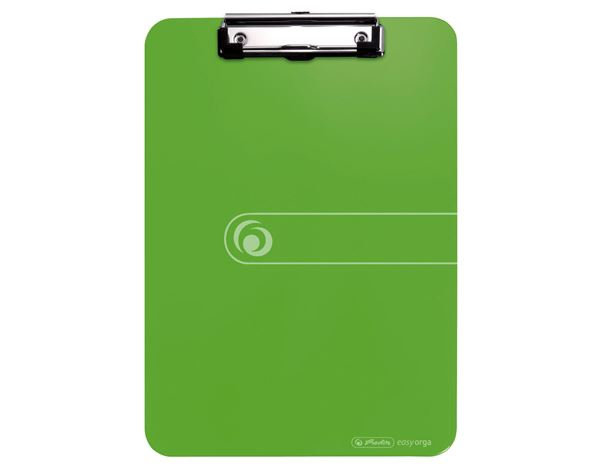 Organisational Supplies: Herlitz Clipboard + apple green