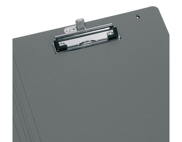 Organiser Books: Herlitz Clipboard folder + apple/grey 1