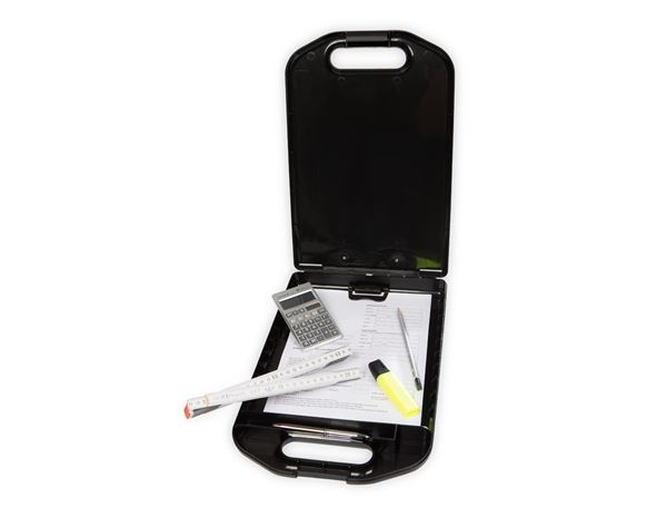 Organisational Supplies: Clipboard with storage compartment 2