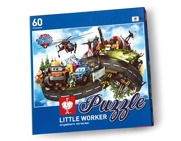 Accessoires: Little Worker Puzzle Friends