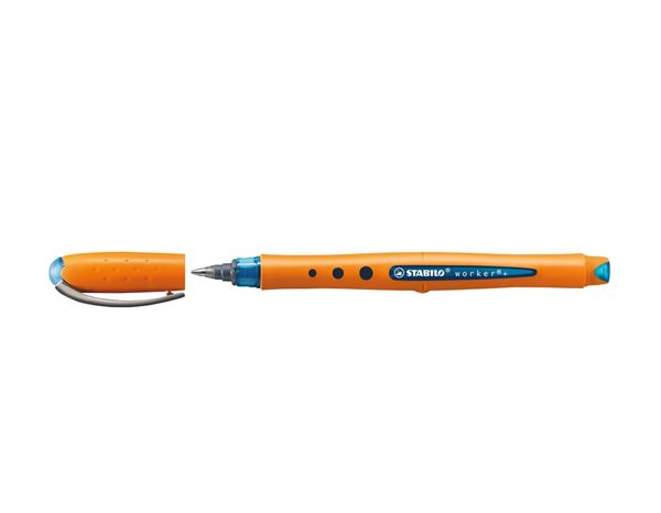 Writing | Correcting: Stabilo Bionic Worker Liquid Ink Pen + blue