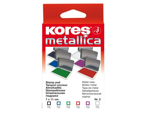 Rulers / Sharpeners: Kores Stamp Pads + black 1