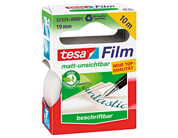 Glue / Adhesives: tesa Tape matt-invisible