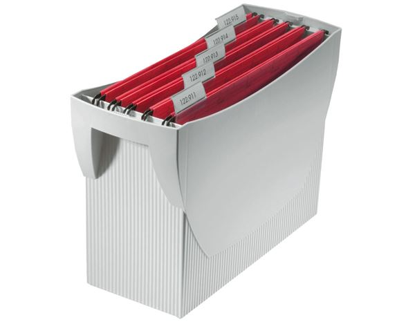 Filing systems: HAN Swing File Carrier  without lid + light grey