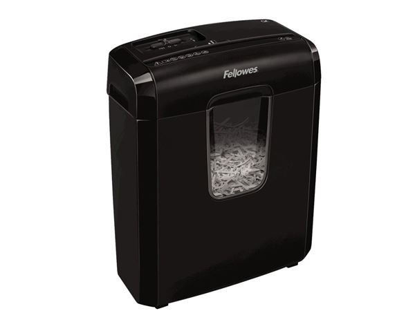 Office equipment: Document shredder 6C + black 2
