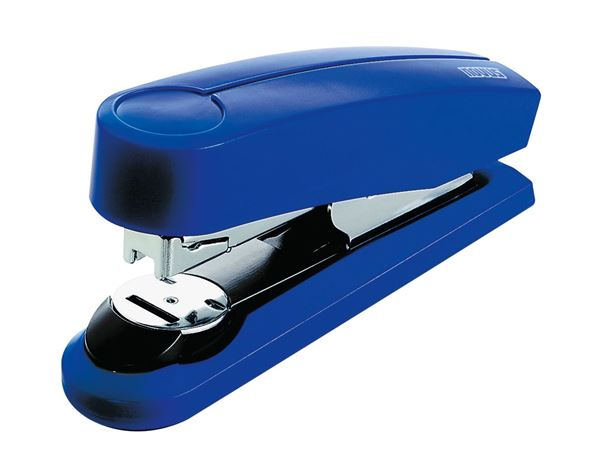 Desk accessories: NOVUS Flat-Clinch Staplers B4FC + blue