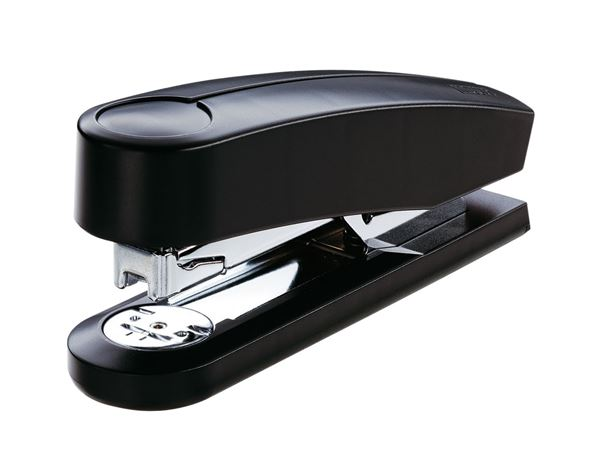 Staplers / Hole puncher / Scissors: NOVUS Extra Capacity Stapler B4 + black