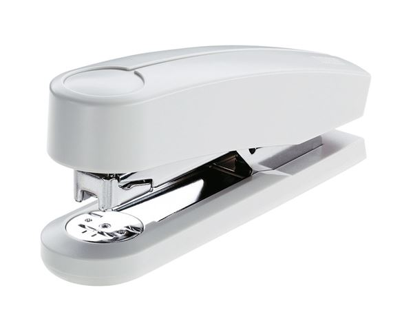 Staplers / Hole puncher / Scissors: NOVUS Extra Capacity Stapler B4 + grey